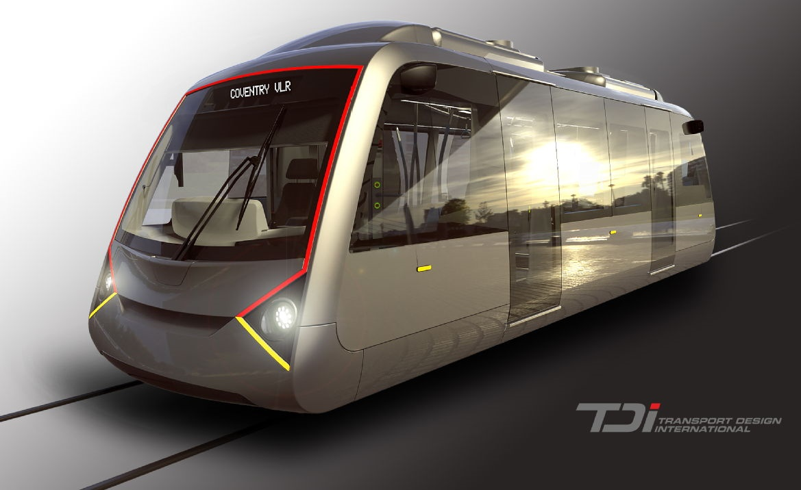 New electric 'very light rail' vehicle planned for Coventry