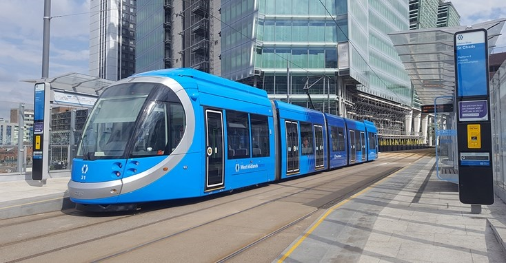 Up to 50 more battery-powered trams on the way for West Midlands
