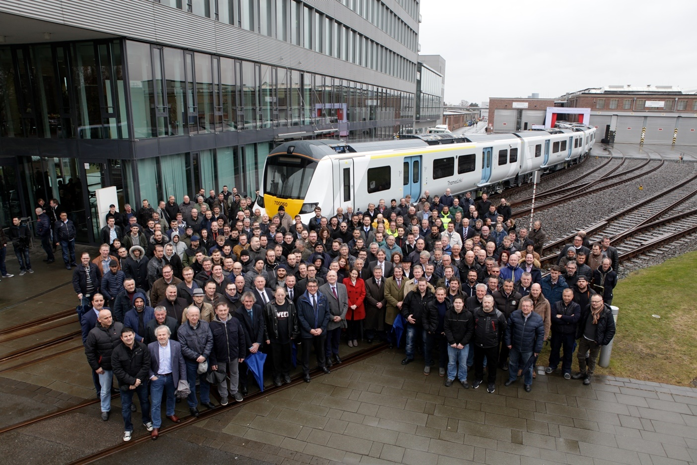 Final Thameslink Class 700 train rolls off production line