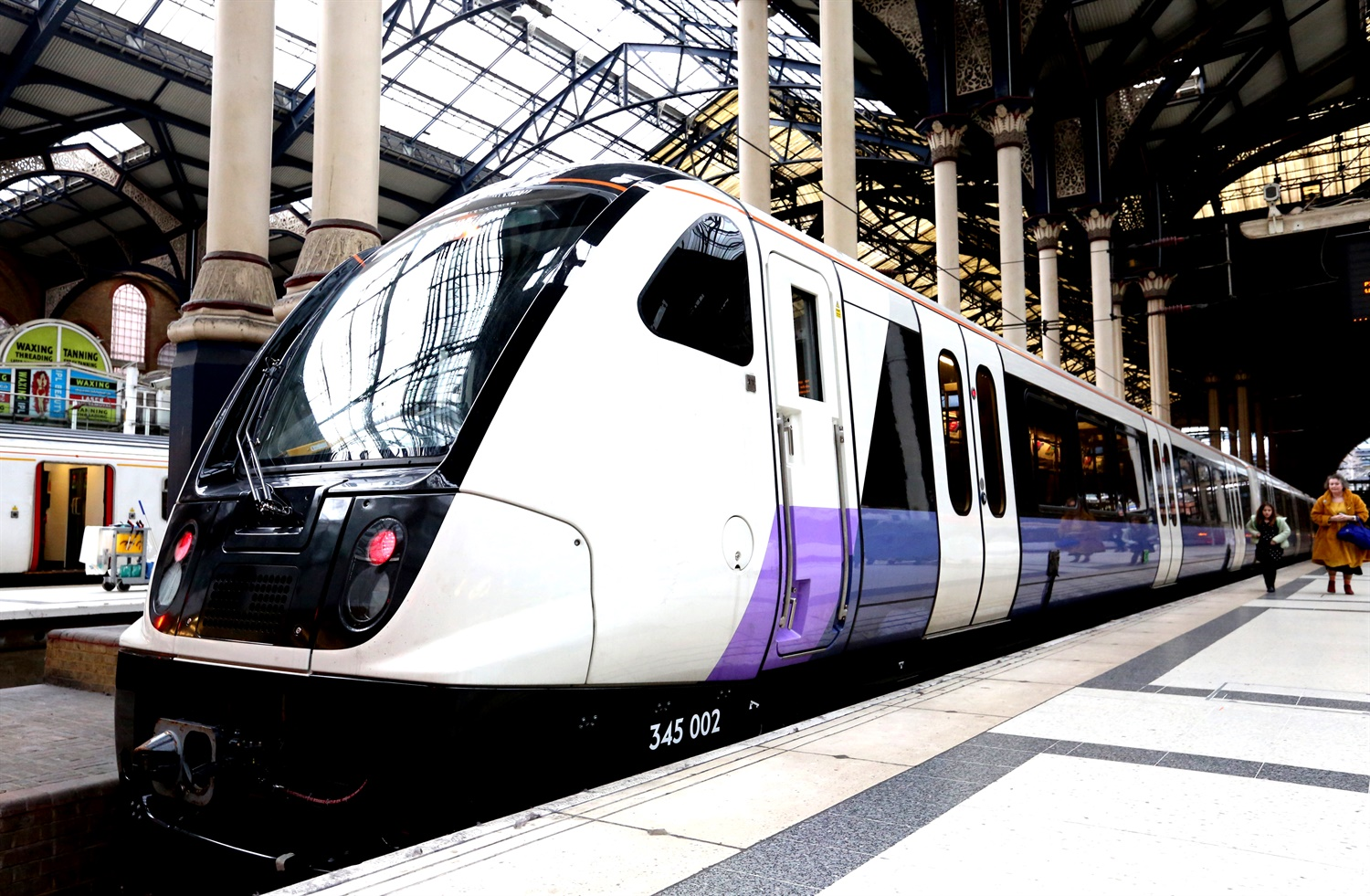 First Elizabeth Line train on track to enter service in May