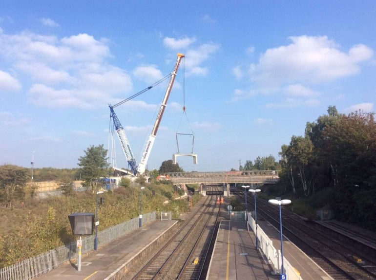 New bridge opens at Iver over GWML as part of Crossrail preparations