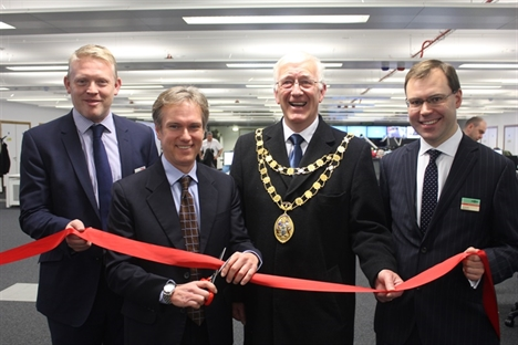 Three Bridges signalling centre opened