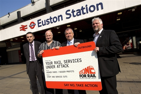 Train fares up 26% since 2008 – TUC