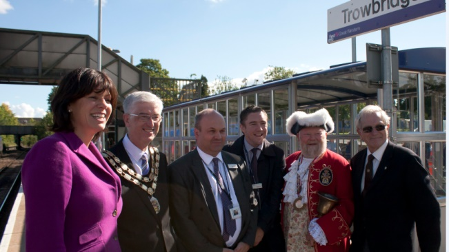 Trowbridge station overhaul marks first step in TransWilts line upgrade