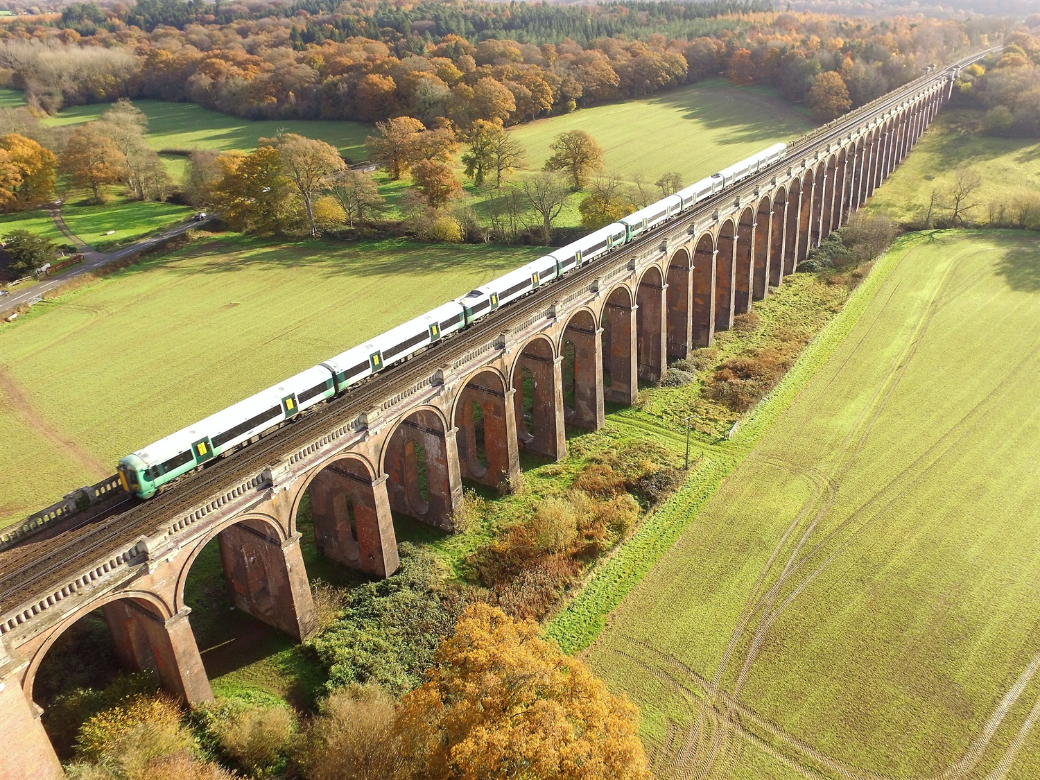 NR trials drones for large railway structure inspections