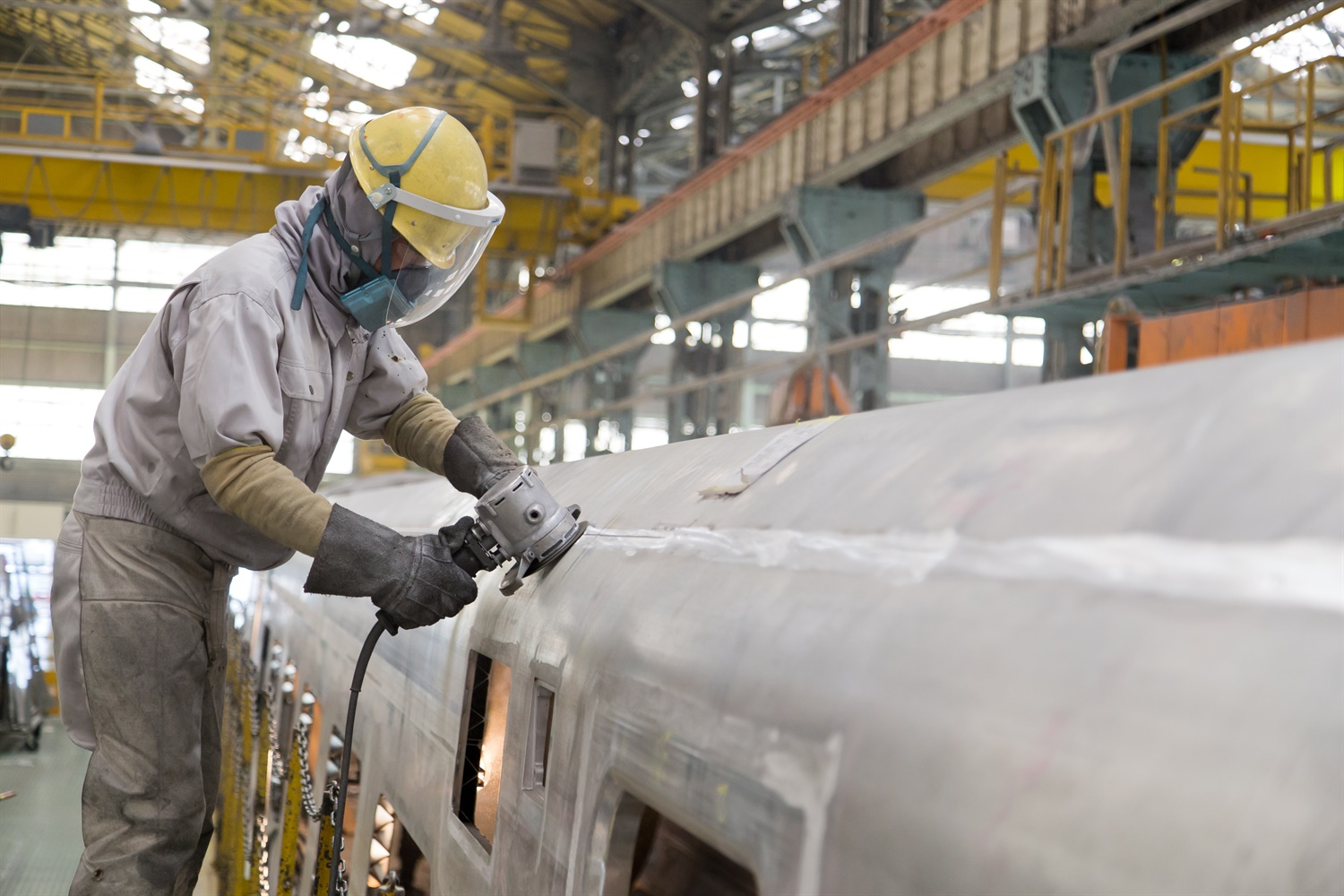 Hitachi gets to work on bodyshells for Virgin's Azuma Class 800s