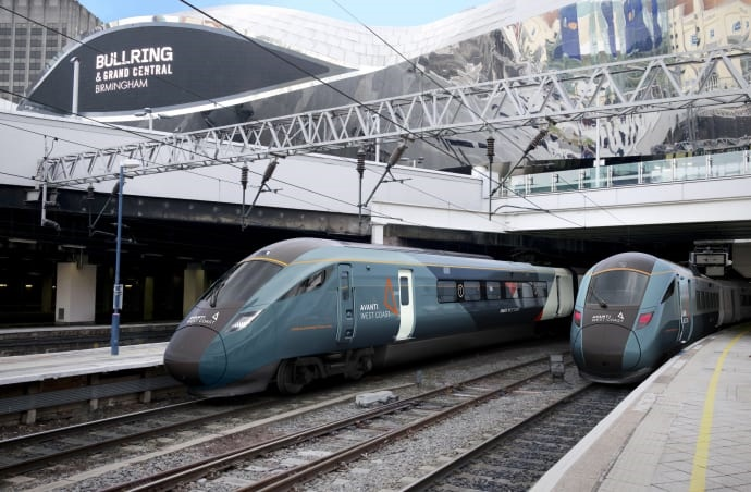 £350m contract for Hitachi Rail to build new Avanti West Coast trains