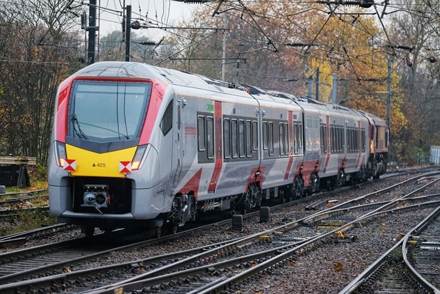 First Greater Anglia FLIRT bi-mode arrives in Norwich for testing