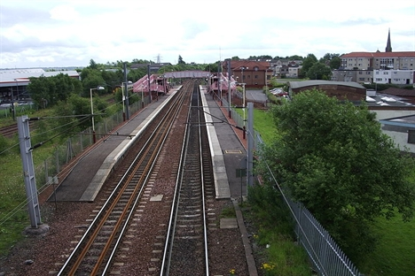 Whifflet route to be electrified ahead of 2014
